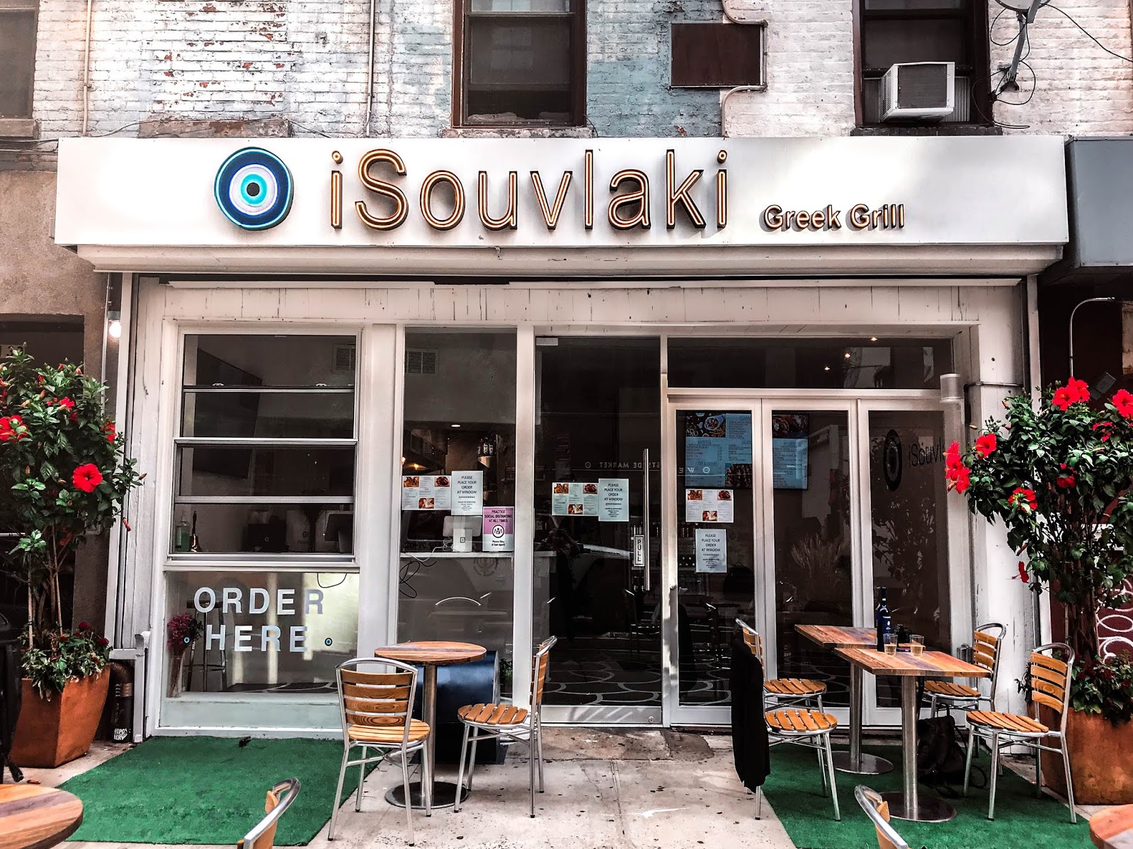The Best East Village NYC Restaurant, iSouvlaki