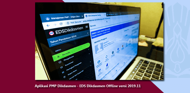 Aplikasi PMP Dikdasmen - EDS Dikdasmen Offline versi 2019.11