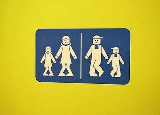 Los letreros de baños públicos más divertidos - urgencia