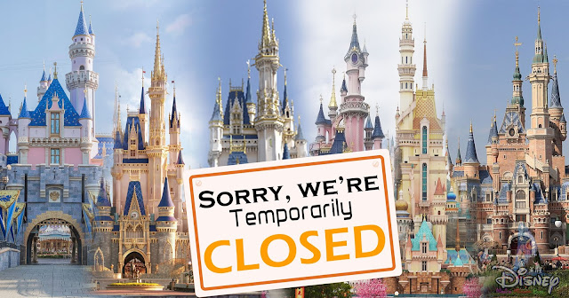 "美國迪士尼 Walt Disney World and Disneyland Announce Parks and Resorts Will Remain Closed ""Until Further Notice"", Hong Kong Disneyland Resort, Shanghai Disneyland Resort, Tokyo Disneyland Resorts, COVID-19"