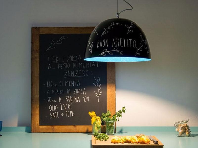 lampada a sospensione Matt Lavagna In-es.artdesign