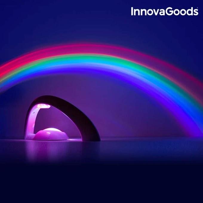 Proyector Led Arcoiris: La luz quitamiedos que hubieras querido tener tu también de niño en tu habitación.
