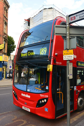 189 London Bus in Kilburn