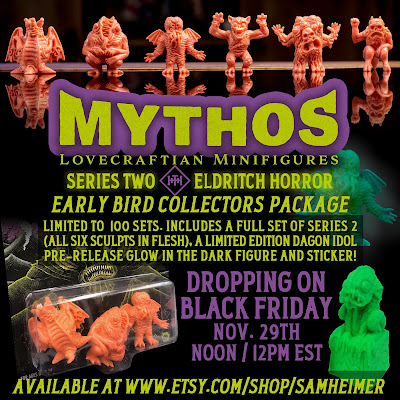 HH Toys & Novelty Co Mythos Lovecraftian Mini Figures Series 2 001