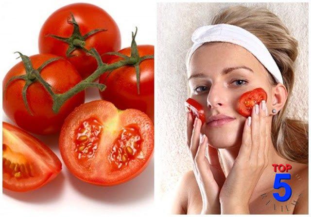 Làm mặt nạ trị mụn với cà chua