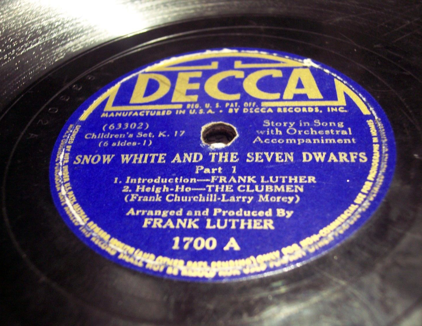 decca records catalog