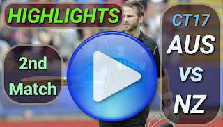 AUS vs NZ 2nd Match