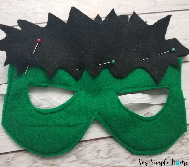 diy hulk mask