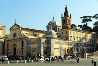 The Church of Santa Maria del Popolo in Rome, where Ascanio Sforza is buried