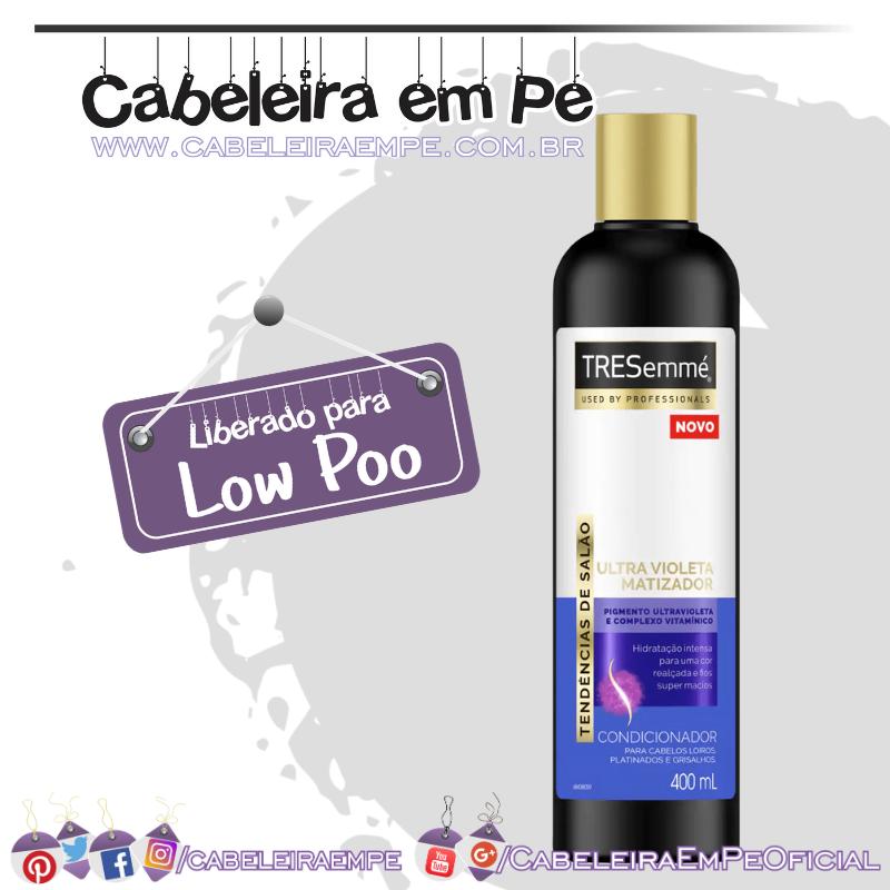 Condicionador Ultra Violeta Matizador - Tresemmé (Low Poo)