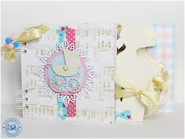 Album ciążowy / Pregnancy album – DT Craft Passion