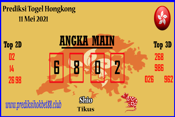 Prediksi Togel Hongkong 11 Mei 2021