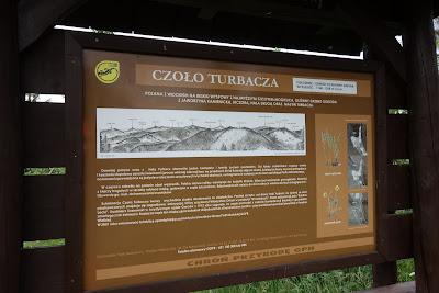 Czoło Turbacza - tablica imformacyjna