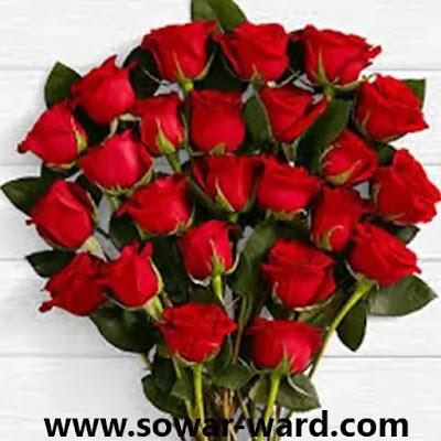 هدية باقة ورد جميلة اجمل باقات الورد