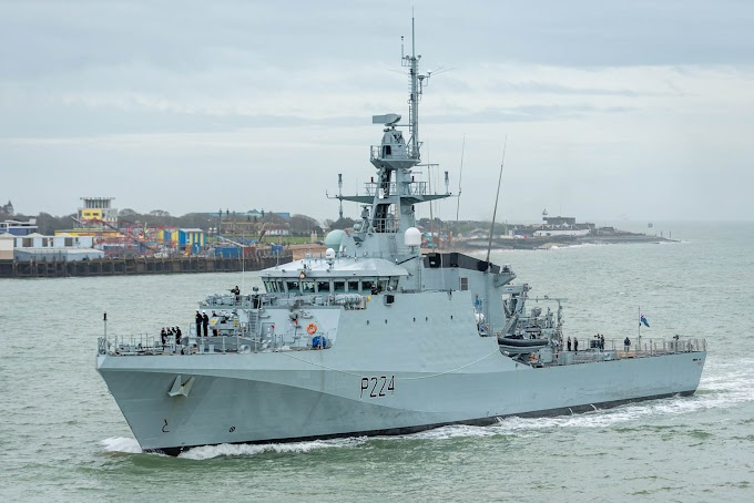 BREXIT REALITY: UK deploys warships in Channel to deter EU fishermen