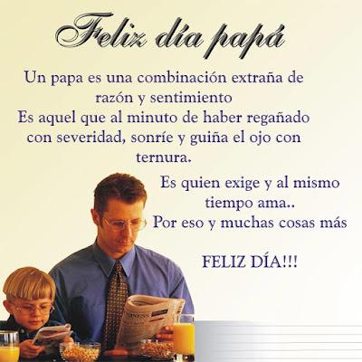 Poemas y poesías del dia del padre