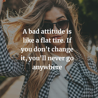 attitude status in english for girl
