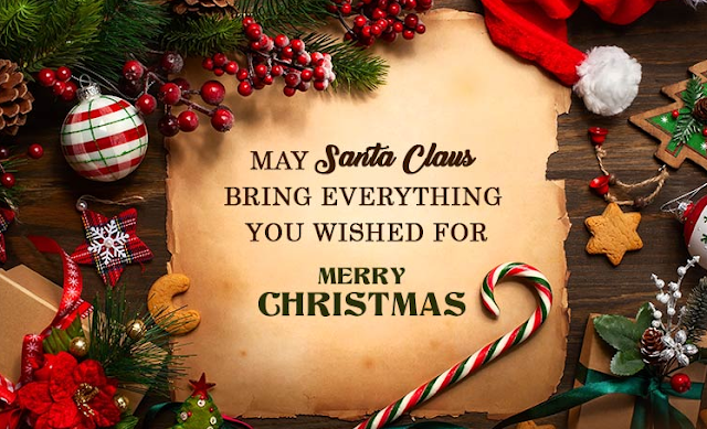 I hope your holidays are filled with festivities and lots of happiness. Merry Christmas