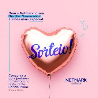Netmark preparou sorteio especial para clientes no Dia dos Namorados