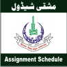 aiou assignment schedule