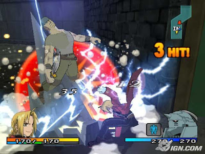 Fullmetal Alchemist 2: Curse of the Crimson Elixir (PS2) 2004