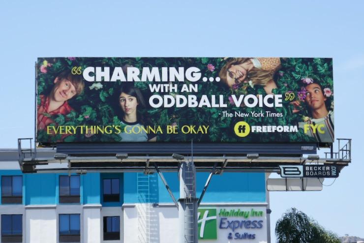Everything Gonna Be Okay season 1 Emmy FYC billboard
