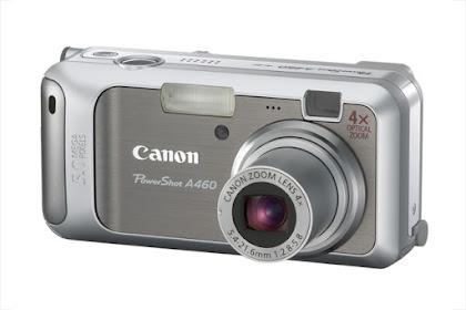 Canon PowerShot A460 Driver Download Windows, Mac