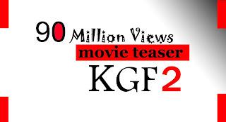 The KGF2 movie teaser has broken all previous movie records.