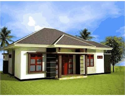 ciri rumah sederhana di desa