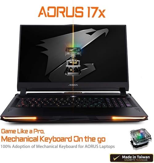 Review AORUS 17X YB-8US6452MP Extreme Gaming Laptop