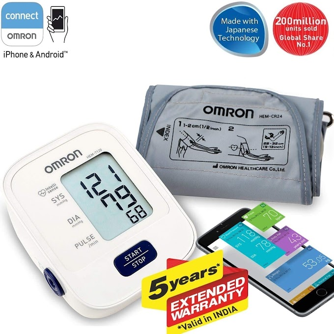 😍Omron HEM 7120 Fully Automatic Digital Blood Pressure Monitor With Intellisense Technology For Most Accurate 😍