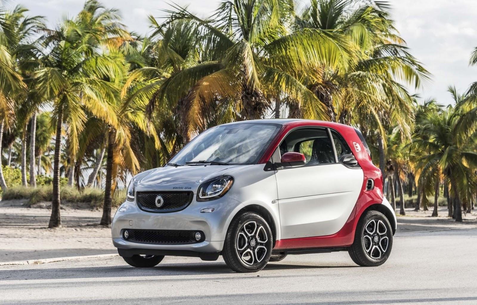 2018 Smart Fortwo Cabrio Forfour