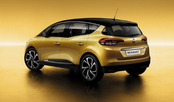 2018 Renault Scenic Back View