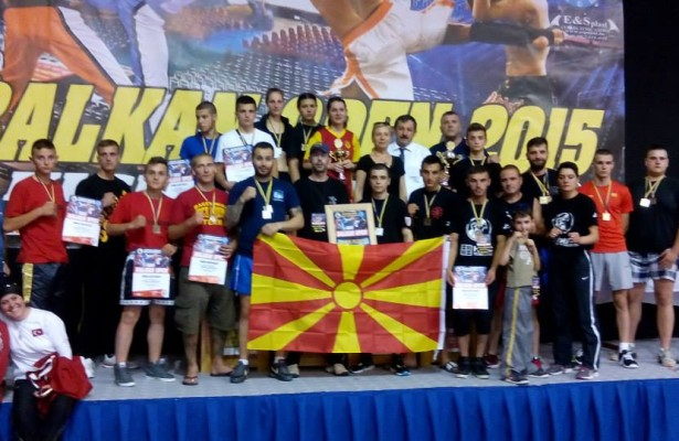 MACEDONIAN KICK-BOXERS WON 21 MEDALS AT BALKAN OPEN