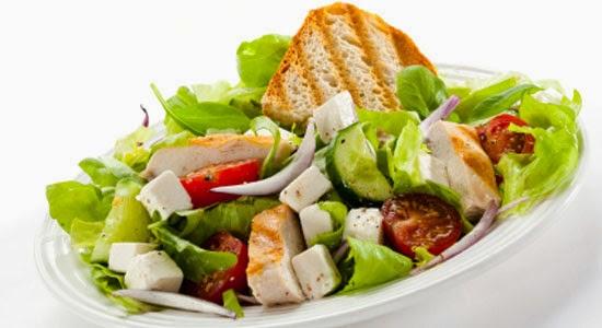 salad buah keju