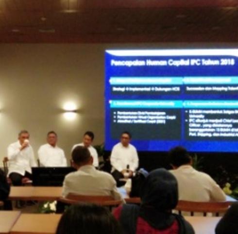 IPC/PT Pelindo II Digitalisasi Layanan Kapal