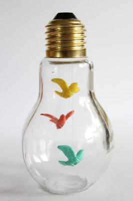 ideias de como reaproveitar lâmpadas queimadas