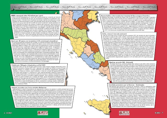 AGOSTO 2021 PAG. 6 - NEWS DALL'ITALIA