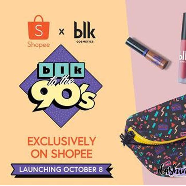 Are you a 90's kid? Shopeexblk Cosmetics 90's Collection