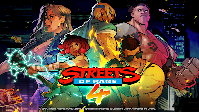 Streets of Rage 4 Logo We know Gamers