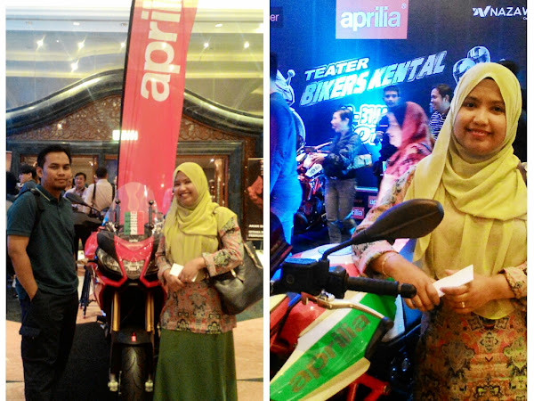 Bikers Kental di pentas teater