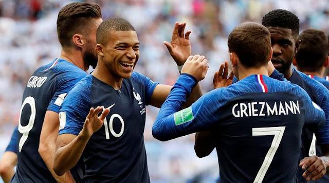 Skor Hasil Pertandingan Prancis VS Argentina piala Dunia 2018