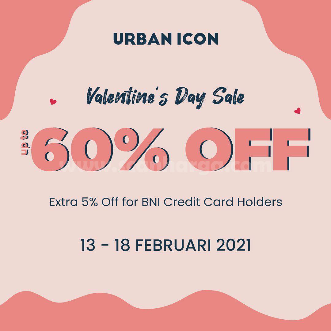 Promo URBAN ICON VALENTINE'S DAY SALE – DISKON hingga 60%