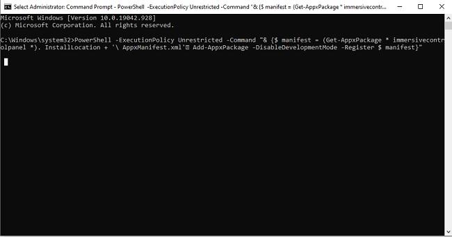كيفية إعادة تطبيق الإعدادات الي الوضع الافتراضي في ويندوز Windows 10