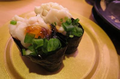 Sushiro, shirako ponzu jelly