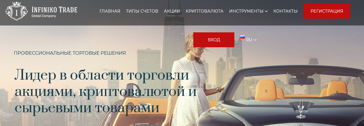 Мошеннический сайт infiniko-trade.com – Отзывы, развод. Компания Infiniko Trade Global Company мошенники