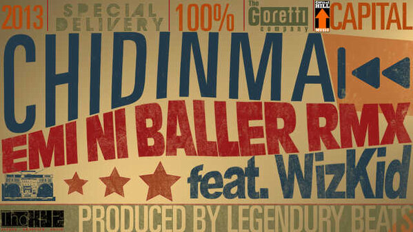 Chidinma - Emi Ni Baller ft wizkid image