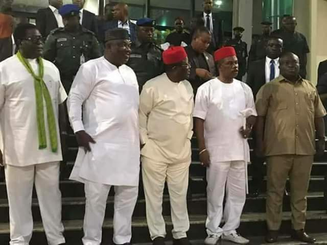 @GovernorIkpeazu: Governors only banned IPOB… we didn't declare it a terrorist organisation