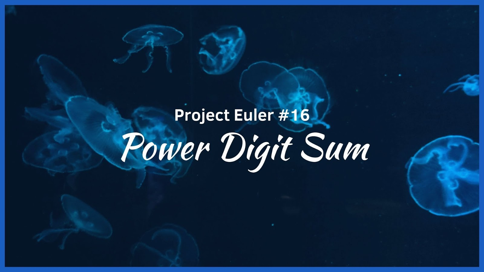 HackerRank - Project Euler #16 - Power Digit Sum