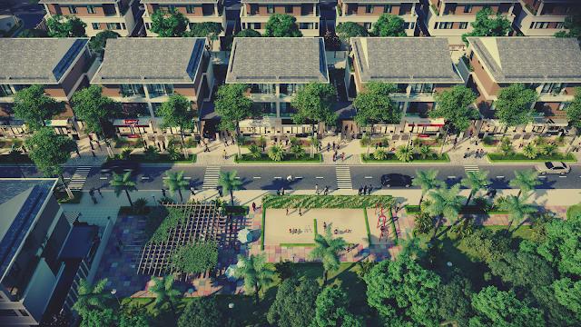 Phối cảnh dự án Biệt Thự Dương Nội